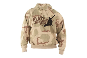 Play in the Dirt Desert Camo Hoody
