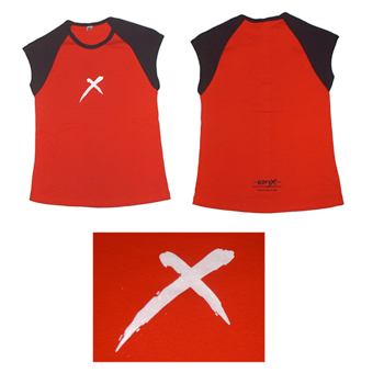 Red Raglan Sparkle